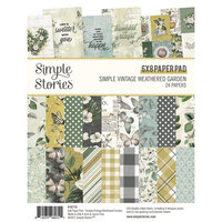 Simple Stories - Simple Vintage Weathered Garden Collection - 6 x 8 Paper Pad
