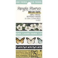 Simple Stories - Simple Vintage Weathered Garden Collection - Washi Tape