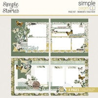 Simple Stories - Simple Pages Collection - Page Kit - Moments Together