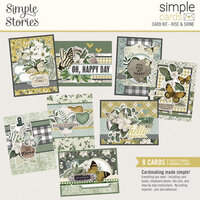 Simple Stories - Simple Cards - Card Kit - Rise and Shine