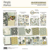 Simple Stories - Simple Vintage Weathered Garden Collection - 12 x 12 Collector's Essential Kit