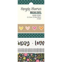Simple Stories - Good Stuff Collection - Washi Tape