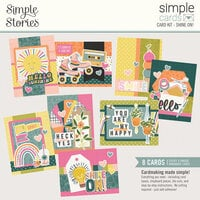 Simple Stories - Simple Cards - Card Kit - Shine On!