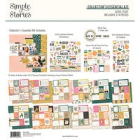Simple Stories - Good Stuff Collection - 12 x 12 Collector's Essential Kit