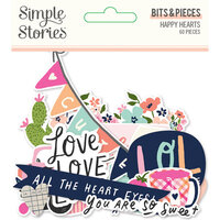Simple Stories - Happy Hearts Collection - Bits and Pieces
