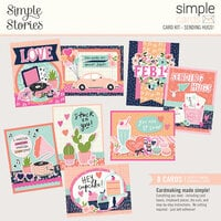 Simple Stories - Simple Cards - Card Kit - Sending Hugs!