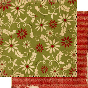 Memory Works - Simple Stories - 25 Days of Christmas Collection - 12 x 12 Double Sided Paper - Naughty and Nice