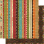 Memory Works - Simple Stories - Year-o-graphy Collection - 12 x 12 Double Sided Paper - Live Life 24/7