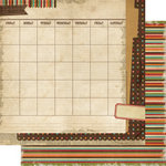 Memory Works - Simple Stories - Year-o-graphy Collection - 12 x 12 Double Sided Paper - Everyday Life