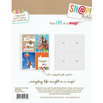 Simple Stories - SNAP Studio Collection - 3 x 4 Page Protectors - 10 Pack