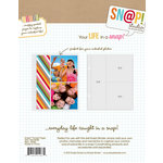 Simple Stories - SNAP Studio Collection - 2 x 8 and 4 x 4 Divided Page Protectors - 10 Pack