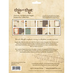 Simple Stories - This and That Collection - 6 x 8 Journal Inserts - Awesome