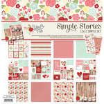 Simple Stories - You and Me Collection - Simple Sets - 12 x 12 Collection Kit