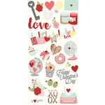 Simple Stories - You and Me Collection - Simple Sets - Cardstock Stickers - Fundamentals