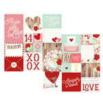 Simple Stories - You and Me Collection - Simple Sets - 12 x 12 Double Sided Paper - Elements 2