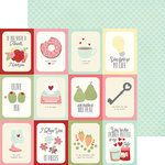 Simple Stories - You and Me Collection - Simple Sets - 12 x 12 Double Sided Paper - All You Need is Love