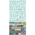 Simple Stories - Snow Patrol Collection - Simple Sets - Cardstock Stickers - Expressions