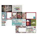Simple Stories - Snow Patrol Collection - Simple Sets - 12 x 12 Double Sided Paper - Elements 1