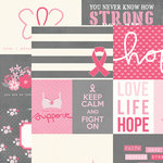 Simple Stories - Hope Collection - Simple Sets - 12 x 12 Double Sided Paper - Elements 1