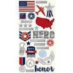 Simple Stories - Hero Collection - Simple Sets - Cardstock Stickers - Fundamentals