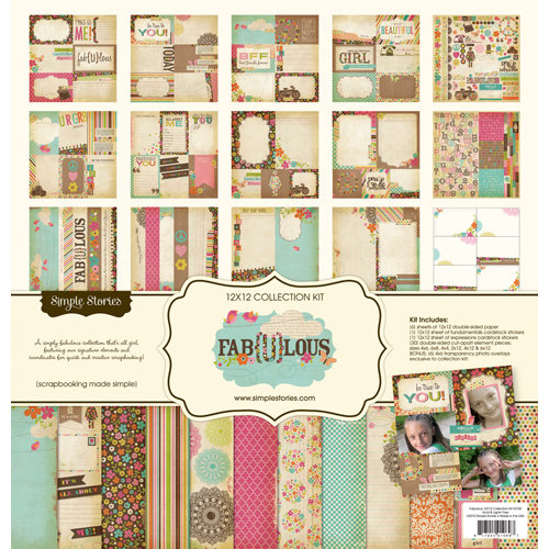 Simple Stories - Fab-U-lous Collection - 12 x 12 Collection Kit