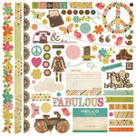 Simple Stories - Fab-U-lous Collection - 12 x 12 Cardstock Stickers - Fundamentals