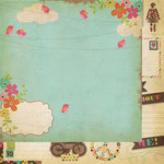 Simple Stories - Fab-U-lous Collection - 12 x 12 Double Sided Paper - All About Me