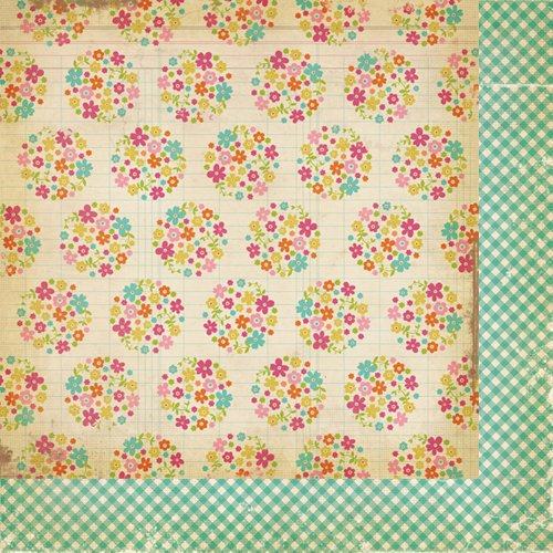 Simple Stories - Fab-U-lous Collection - 12 x 12 Double Sided Paper - Sassy