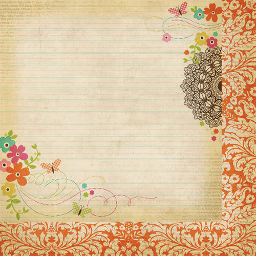 Simple Stories - Fab-U-lous Collection - 12 x 12 Double Sided Paper - Amazing