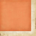Simple Stories - Fab-U-lous Collection - 12 x 12 Double Sided Paper - Orange Dot