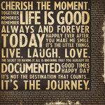 Simple Stories - Documented Collection - 12 x 12 Double Sided Paper - Words to Live By