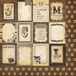 Simple Stories - Documented Collection - 12 x 12 Double Sided Paper - Flash Cards