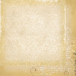 Simple Stories - Documented Collection - 12 x 12 Double Sided Paper - Damask
