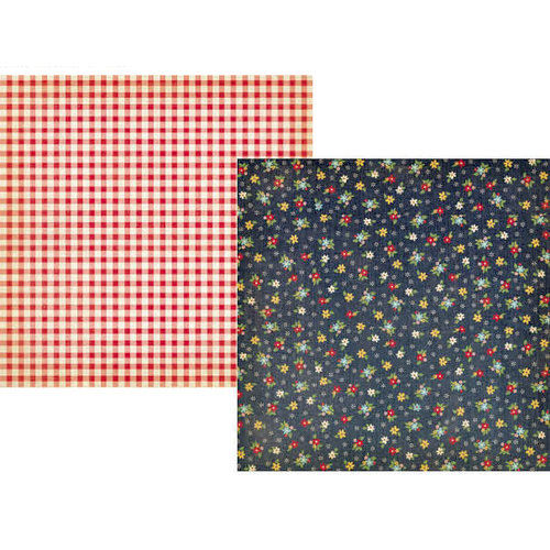 Simple Stories - Summer Fresh Collection - 12 x 12 Double Sided Paper - Easy Breezy