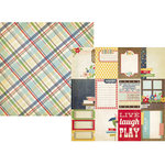 Simple Stories - Summer Fresh Collection - 12 x 12 Double Sided Paper - Flash Cards
