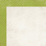 Simple Stories - Harvest Lane Collection - 12 x 12 Double Sided Paper - Green Stitch