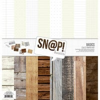 Simple Stories - SNAP Studio Basics Collection - 12 x 12 Paper Pack