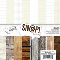 Simple Stories - SNAP Studio Basics Collection - 6 x 6 Paper Pad
