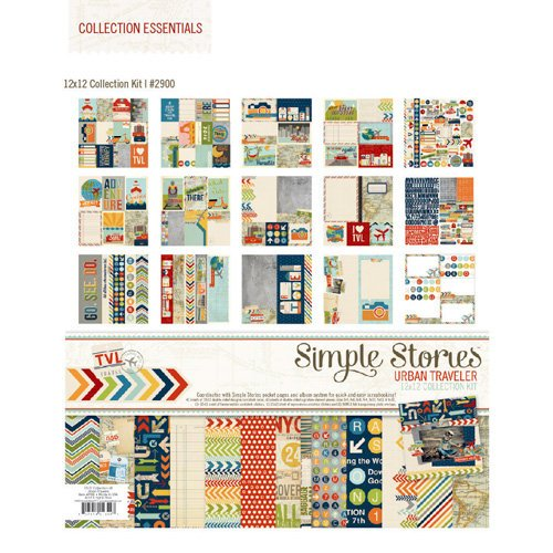 Simple Stories - Urban Traveler Collection - 12 x 12 Collection Kit