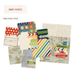 Simple Stories - SNAP Collection - Memorabilia Pockets - Urban Traveler