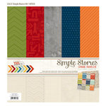 Simple Stories - Urban Traveler Collection - 12 x 12 Simple Basics Kit