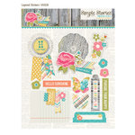 Simple Stories - Vintage Bliss Collection - Layered Stickers