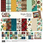 Simple Stories - Cabin Fever Collection - 12 x 12 Collection Kit