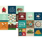 Simple Stories - Cabin Fever Collection - 12 x 12 Double Sided Paper - 4 x 4 Elements