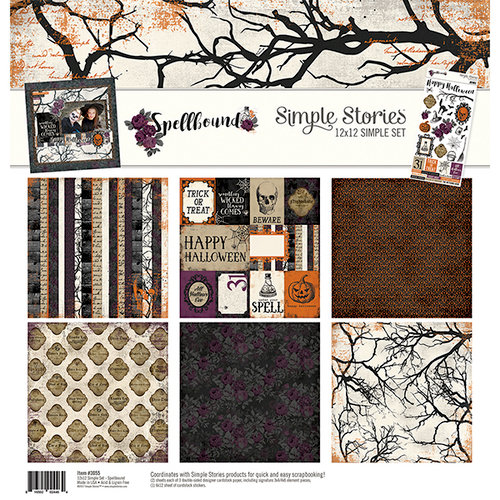 Simple Stories - Spellbound Collection - 12 x 12 Collection Kit