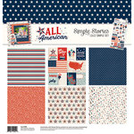 Simple Stories - All American Collection - 12 x 12 Collection Kit