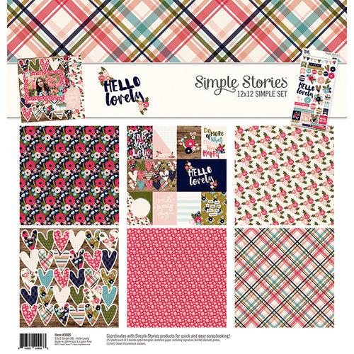 Simple Stories - Hello Lovely Collection - 12 x 12 Collection Kit