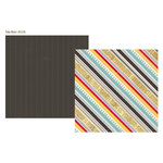 Simple Stories - 24 Seven Collection - 12 x 12 Double Sided Paper - Take Note