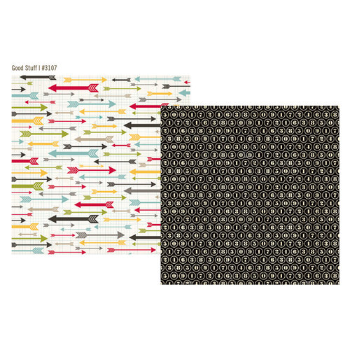 Simple Stories - 24 Seven Collection - 12 x 12 Double Sided Paper - Good Stuff