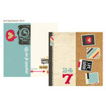Simple Stories - 24 Seven Collection - 12 x 12 Double Sided Paper - Page Elements
